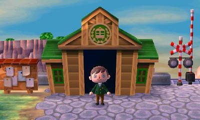 Train Station Animal Crossing New Leaf Wiki FANDOM powered by