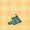 Green-stripesocks160basic0