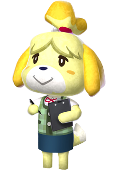 Isabelle Animal Crossing New Leaf Wiki Fandom Powered By Wikia