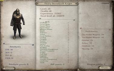 Heavy Stormlands Knight
