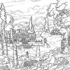 A Court Of Thorns And Roses Coloring Book A Court Of Thorns And