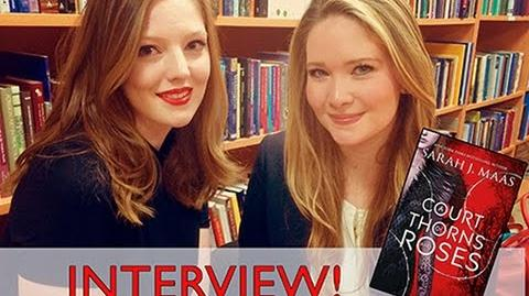 Q&A WITH SARAH J. MAAS! The Book Belle