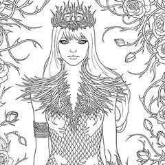 A Court of Thorns and Roses Coloring Book A Court of Thorns and Roses Wiki FANDOM powered by