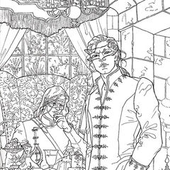 A Court of Thorns and Roses Coloring Book | A Court of Thorns and ...
