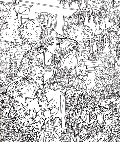 Image - Coloring Book 9.jpg | A Court of Thorns and Roses Wiki ...