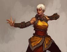 Female monk 4