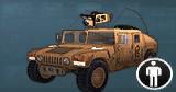 AoA Icon Humvee Mk19