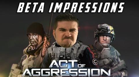 AngryJoe Plays Act of Aggression!