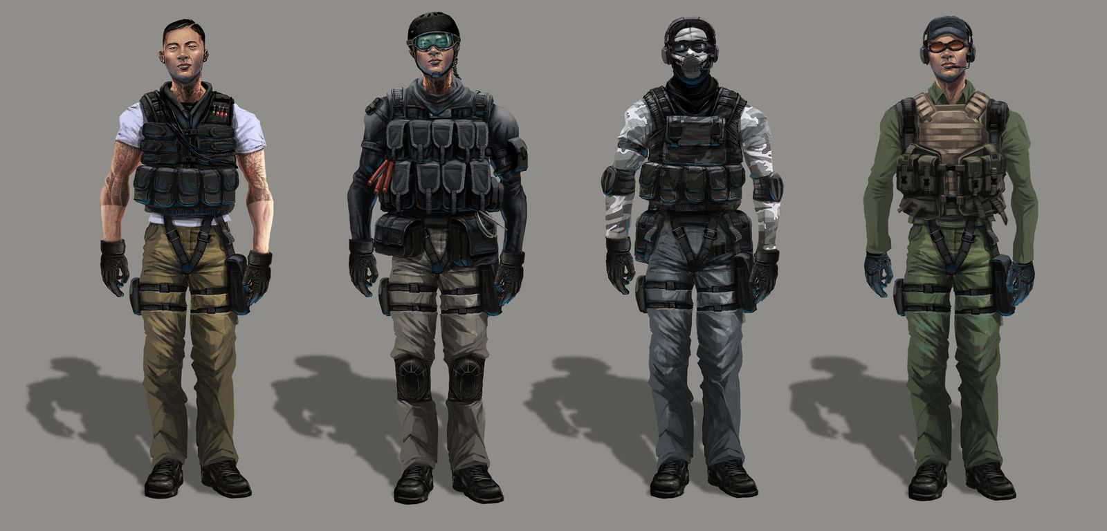 Next operator logos : Rainbow6