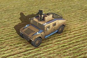AoA Ingame Humvee GAU-19
