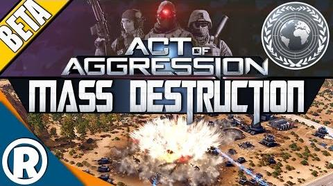 Act of Aggression BETA - MASS DESTRUCTION