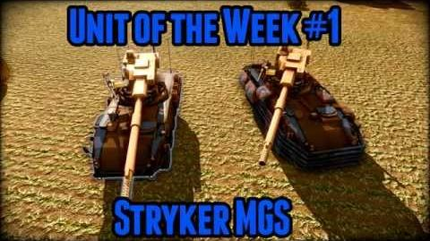 AoA Unit of the Week 1 (Stryker MGS)