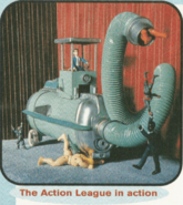 TV-Goes-KABLAM-Action-League-Now-Cast-Stars-Characters-Nickelodeon-Magazine-October-1996-Issue-Nick-Mag-Nicktoons 2