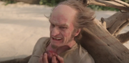 Count Olaf Eating Apple