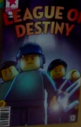 League of Destiny Poster