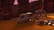Samurai X Cave Skeleton