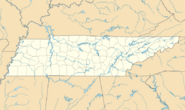 Tennessee state map