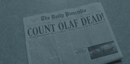 COUNT OLAF DEAD! paper