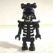 A Black Skeleton