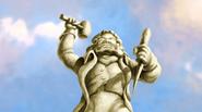 Abraham van Helsing statue