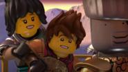 Kai, Zane, and Nya