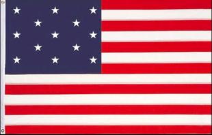13-star Navy flag