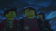 Ray, Kai, and Nya