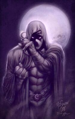 Moon Knight II by MCornelius by northchavis