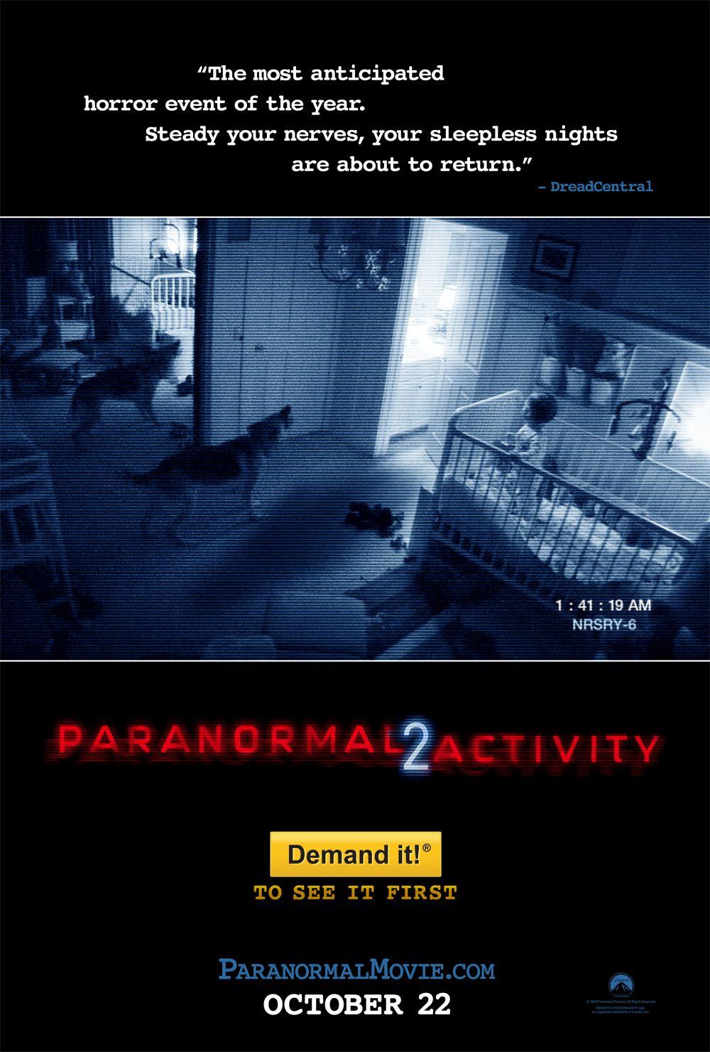 Imagen Actividad Paranormal 2 (2010)