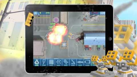 Act of War Urban Defense iPad HD video game trailer - iPhone iPad
