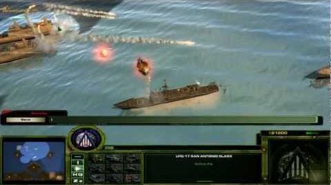 Act of War HT - LAN Naval Battle