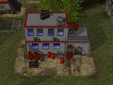 Mercenary command post