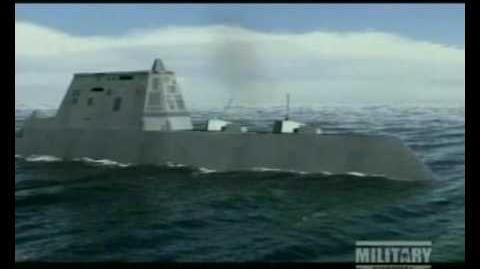 DDG 1000 Zumwalt-Class Guided Missile Destroyer