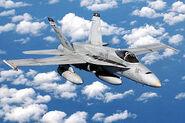 USMC FA-18 Hornet