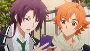 Kakeru telling Hinata about his younger sister