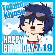 Happy Birthday Takato Kiyosu Chibi