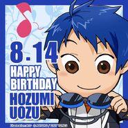 Happy Birthday Hozumi Uozu Chibi