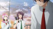 Kakeru telling Saku, Sosuke, and Uta we might have to call it for today
