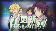 Kakeru and Shiro appearing during INAZUMA SHOCK