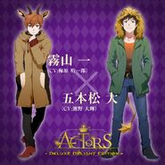 ACTORS Deluxe Delight Edition Hajime and Masaru