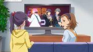 Hinata's mom telling Haruna about Hinata performing