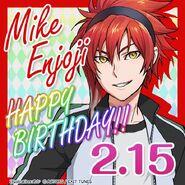 Mike Enjoji Happy Birthday Card