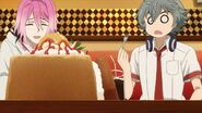 Sosuke shocked to see Uta going to the honey toast
