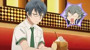 Sosuke shocked to see Satsuma going for the honey toast