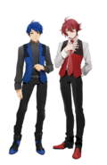 Hozumi and Itto in Deluxe Duet Edition