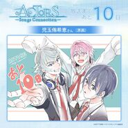 Saku, Sosuke, and Uta 10 days till Broadcasting Illustration
