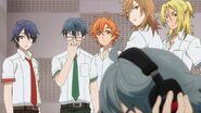 Satsuma telling Sosuke that's rather harsh critique