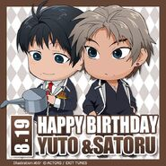 Happy Birthday Yuto & Satoru Chibi