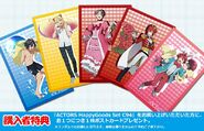ACTORS Happy Goods Set C94 Postcards