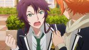 Kakeru telling Hinata I did this because I wanted to make my sister happy